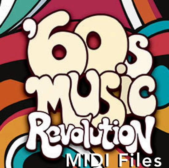 1960's MIDI Files Backing Tracks MIDI File Backing Tracks