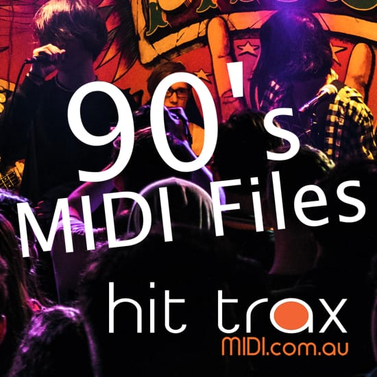 Hits Of The 1990's Midi & Mp3 Backing Tracks