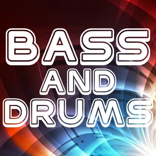 Bass & Drums Rhythm Tracks (MP3) MIDI File Backing Tracks
