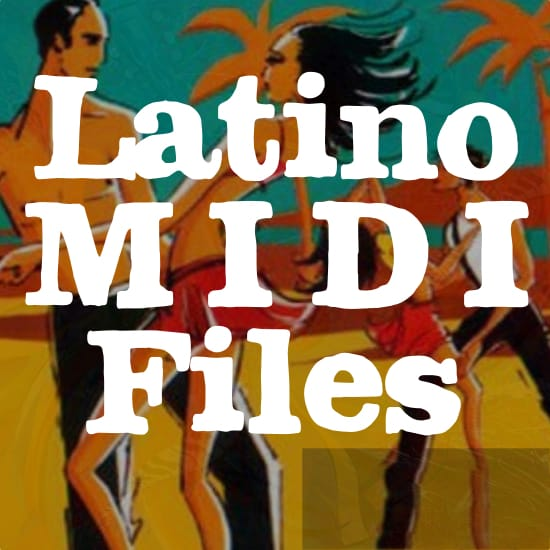 Latino Midi Files Backing Tracks