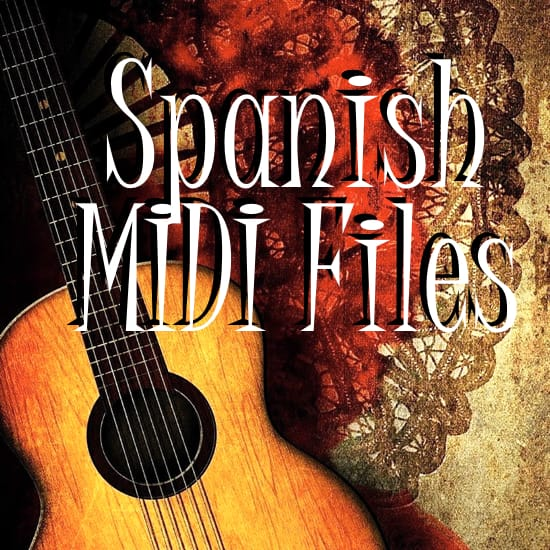 Spanish Midi File Backing Tracks MIDI File Backing Tracks